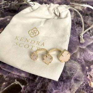 Kendra Scott Naomi Gold Ring Iridescent Drusy